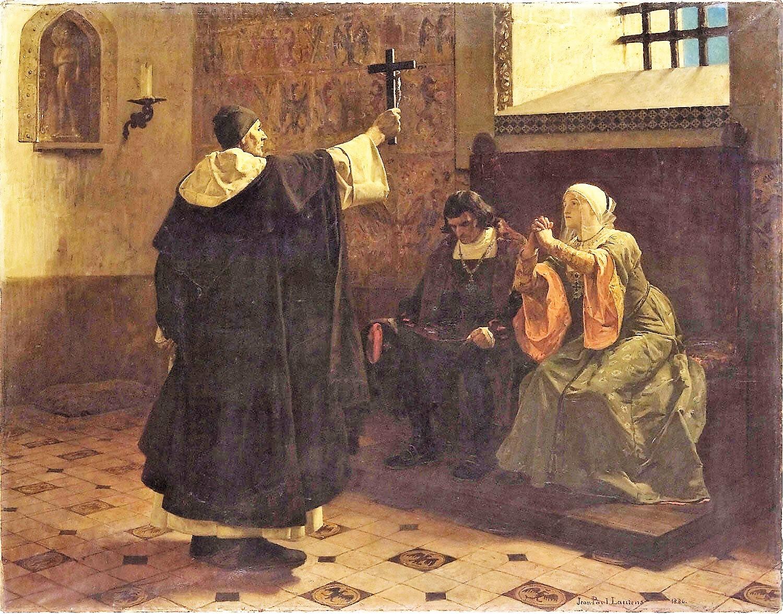 Jean Paul Laurens 1886 Torquemada, Grand Inquisitor Philadelphia Museum of Art 150 x 116 cm