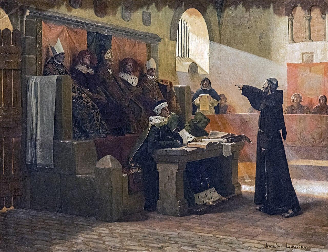 Jean Paul Laurens 1887 L'Agitateur_du_Languedoc Musee des Augustins Toulouse.149 x 115,5 cm