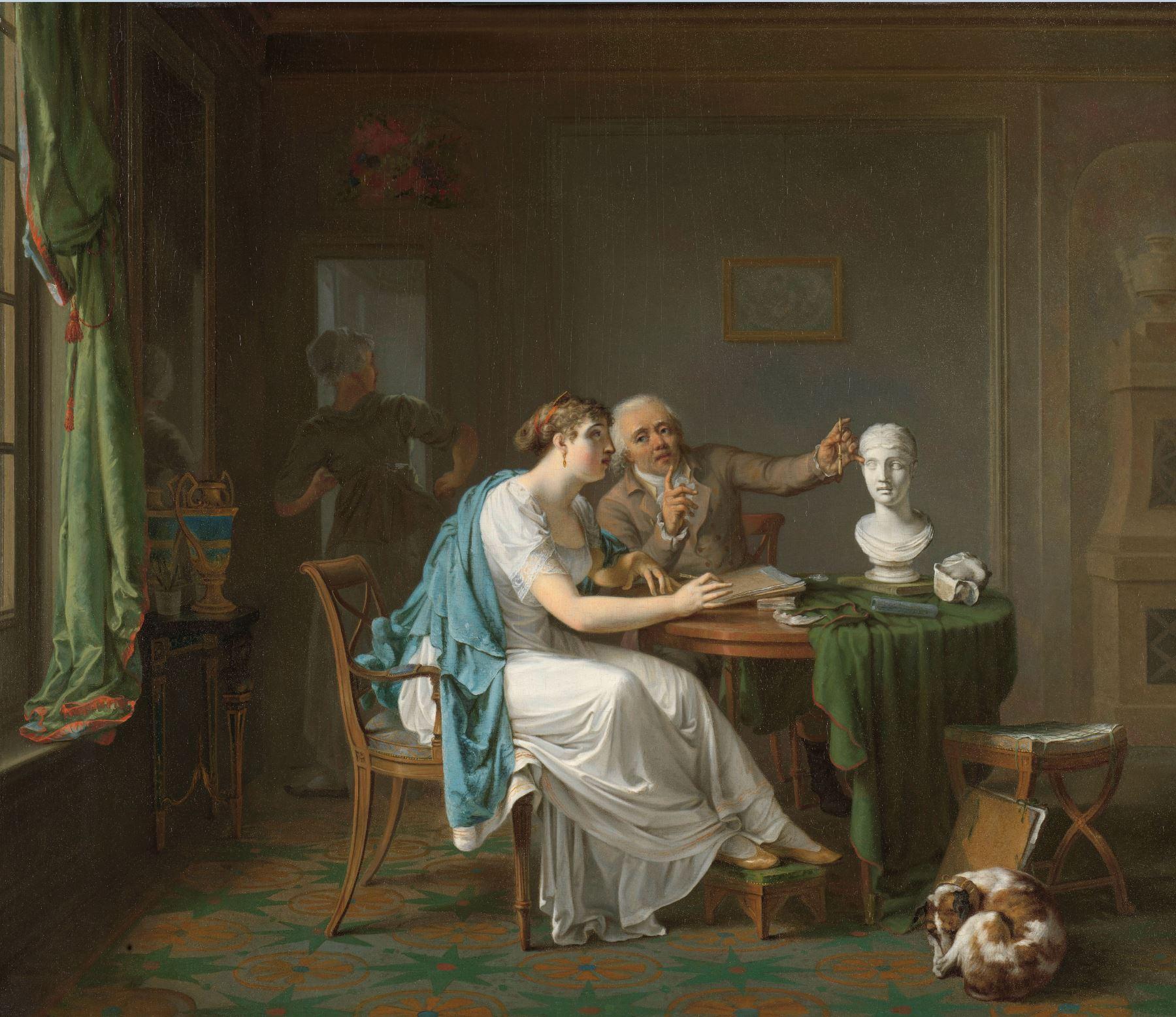 Louis Moritz 1808 La leçon de dessin Rikjsmuseum