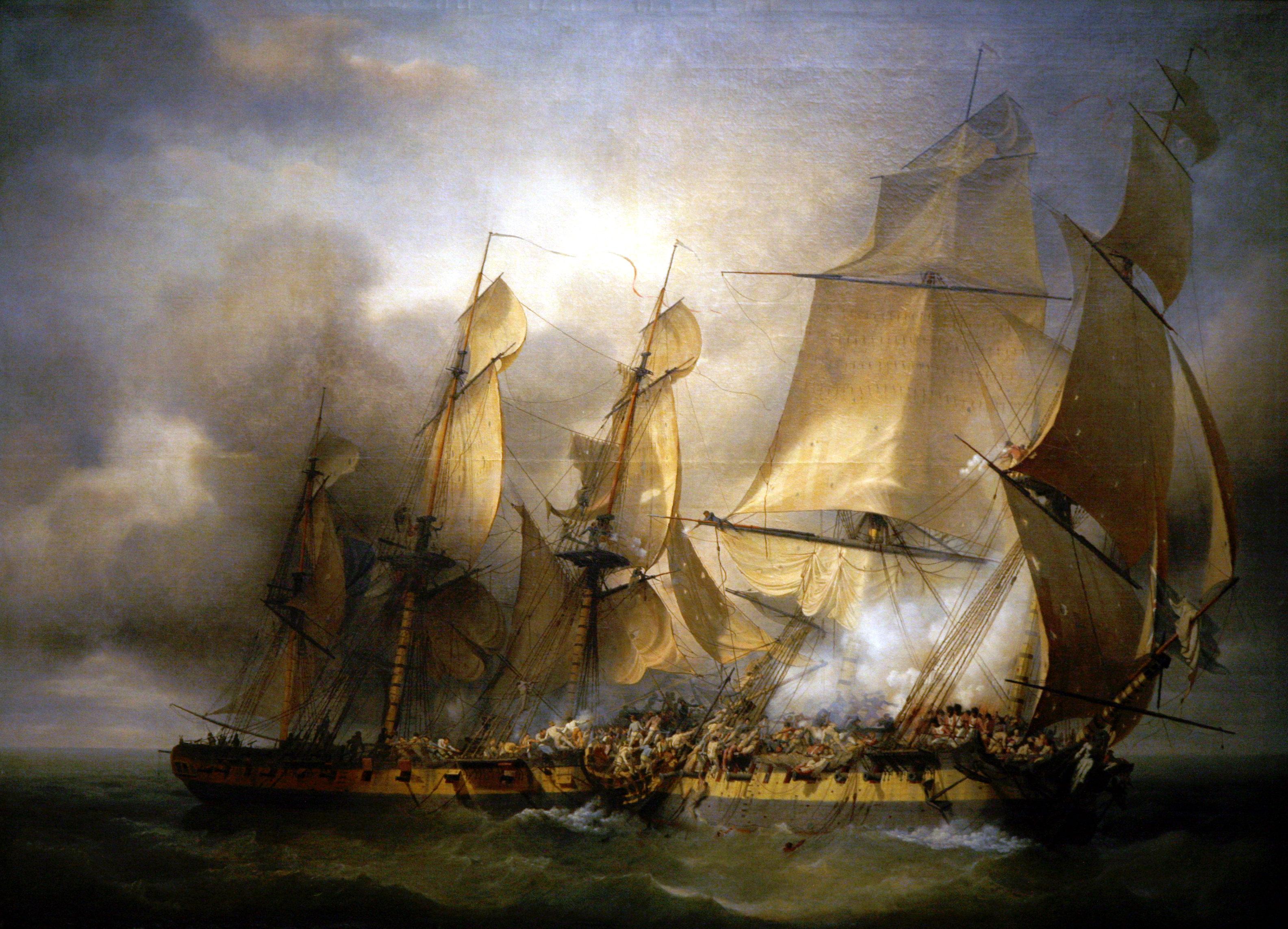 Louis-Philippe Crepin B1801 ayonnaise_vs_EmbuscadeMusee de la Marine