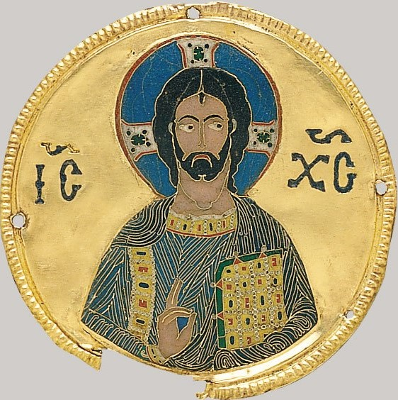 Medallion with Christ from an Icon Frame 1100 MET
