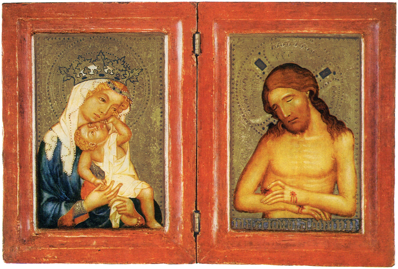 Meister von Hohenfurth Diptychon Prag, um 1360 Karlsruhe, Staatliche Kunsthalle