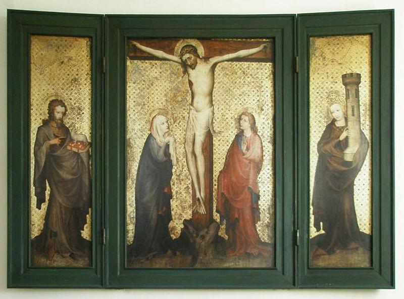 Paehler Altar vers 1400 Bayerische Nationalmuseum