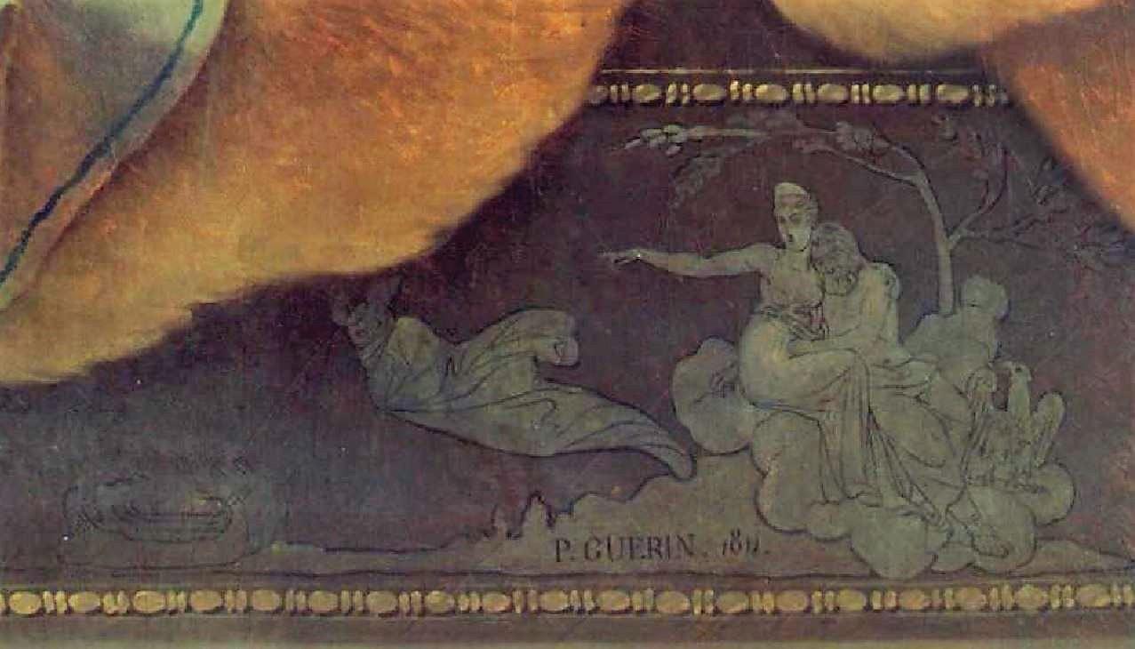 Pierre-Narcisse_Guerin 1811 Morpheus_and_Iris Ermitage detail2