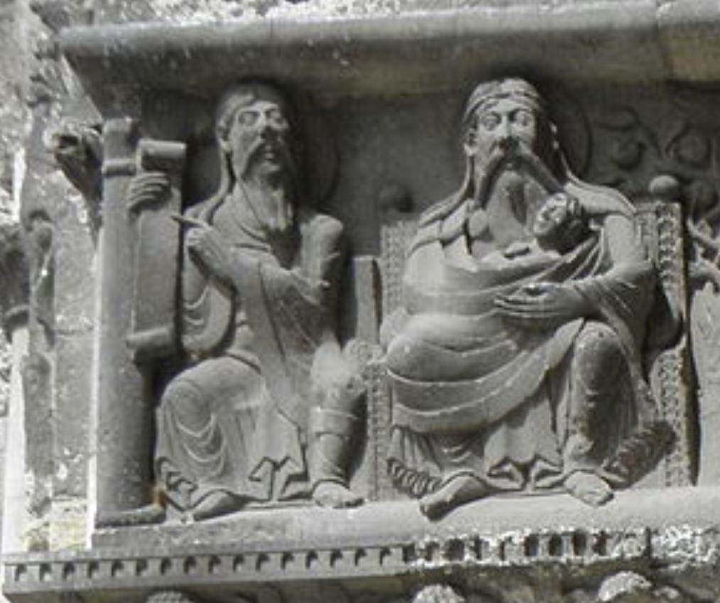 Porche Moissac Sein d'Abraham
