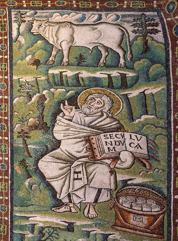 Saint Luc basilique Saint Vital Ravenne