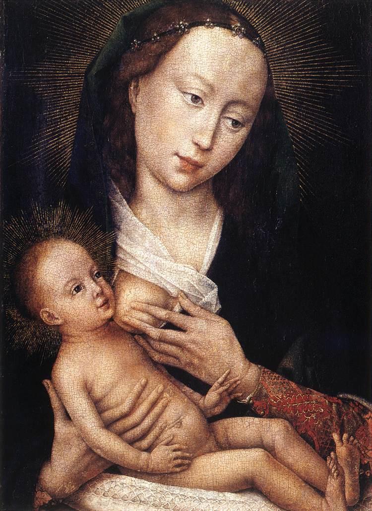 Van der Weyden 1450 ca Diptych_of_Jean_de_Gros_Musee des BA de Tournai