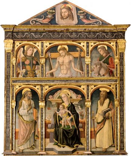 Vittore Crivelli 1489 Monte san Martino