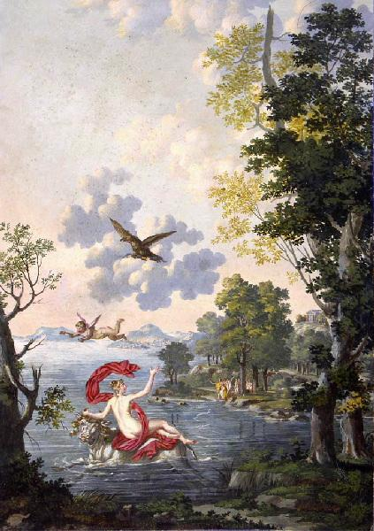 Volozan 1800-20 L'Enlevement d'Europe Musee Aquitaine Bordeaux