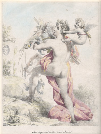 pierre-narcisse-guerin 1816qui trp embrasse mal etreint lithographie.