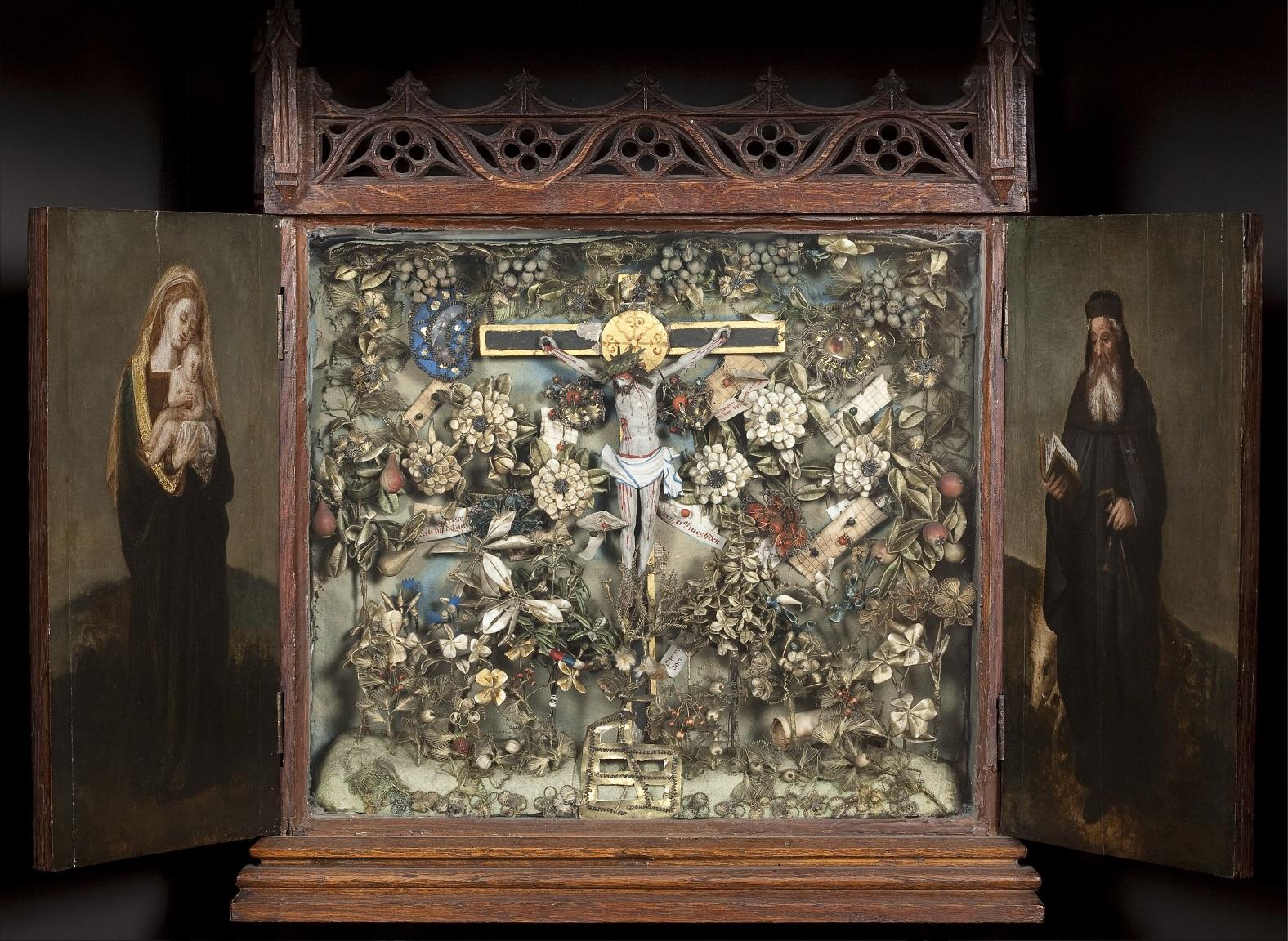 1510–30 Besloten_Hofje_met_Calvarie__Museum_Hof_van_Busleyden_Mechelen (c) Kirk-IRPA