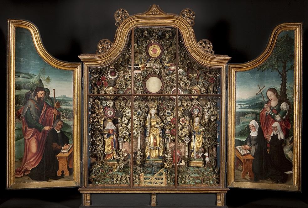 1513–24 Besloten Hofje Elizabeth of Hungary, Ursula Catherine Museum_Hof_van_Busleyden_Mechelen(c) Kirk-IRPA