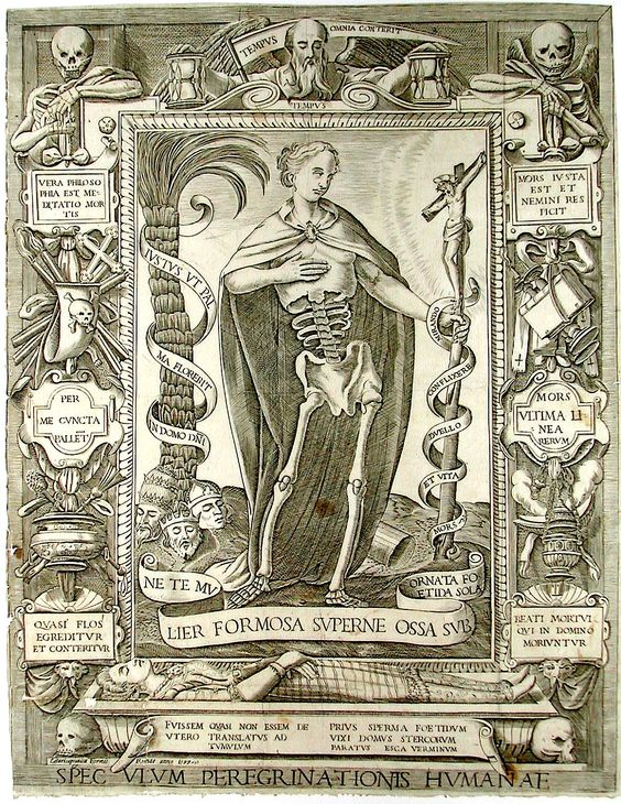 1597 CAPRONICA Cesare Speculum peregrinationes humanae
