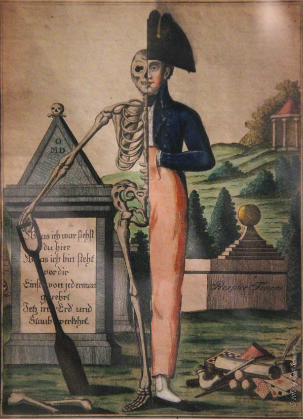 1770 after Memento Mori – German coll Richard Harris
