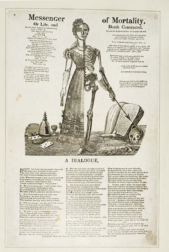 1820 - 1844 Messenger of mortality, or, Life and death contrasted National Library of Scotland