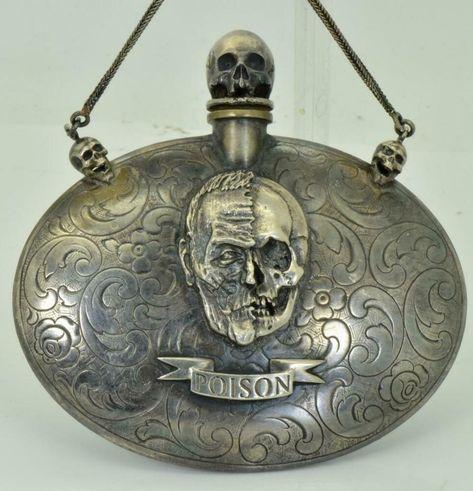 1850 ca fole de poison victorienne