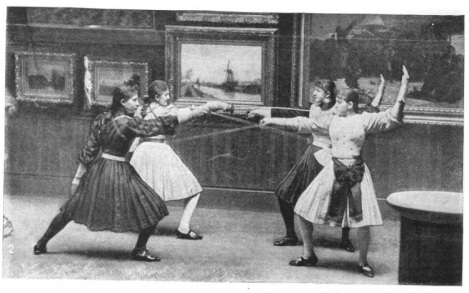 1888-91 hartl-girls tournee US au musee