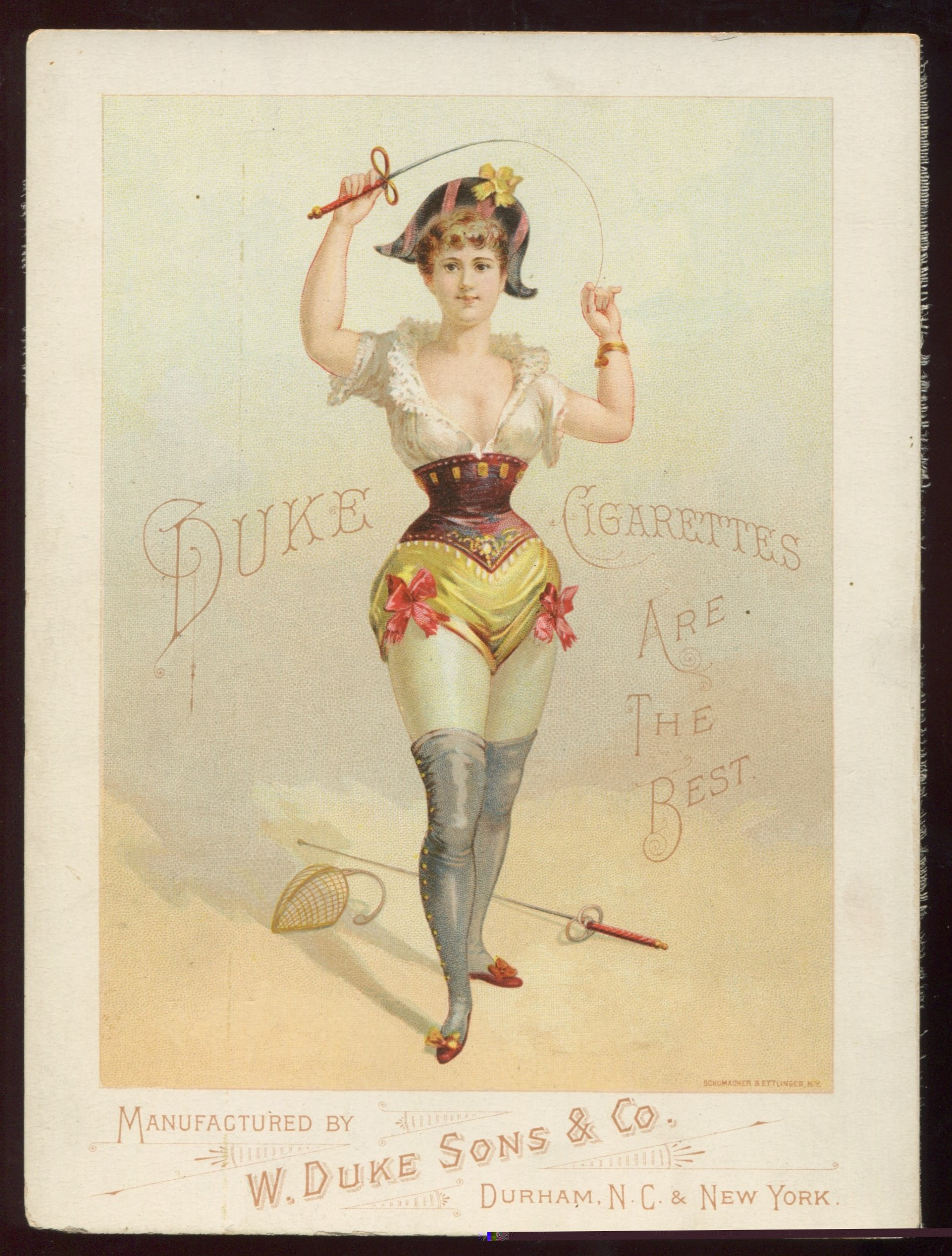 "1888 A32 Duke ""Sporting Girls"" Tobacco"