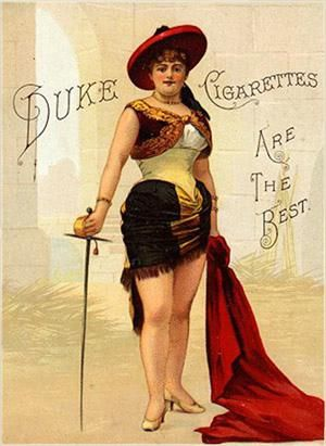 "1888 A32 Duke ""Sporting Girls"" Tobacco A"