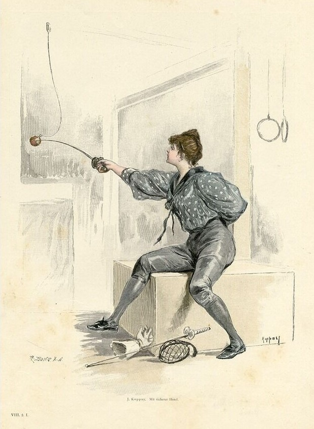 1890 ca Joseph Arnad Koppay Mit sicherer Hand Moderne Kunst Annee VIII 3 1