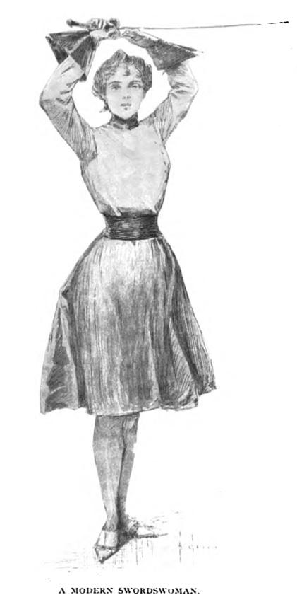 1897 A Modern sportswoman From Munsey's Magazine
