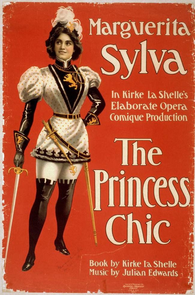 1900 Marguerita_Sylva_Princess_Chic_Poster