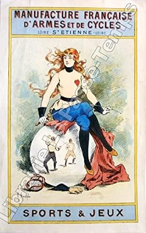 1901 ca Manufacture Française d'Armes et de Cycles Manufrance Maurice MOISAND.