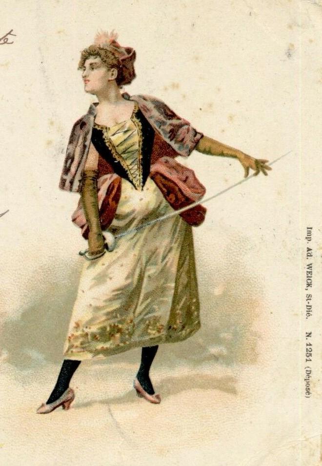 1901 carte postale francaise