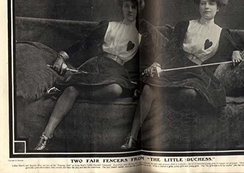 1902 -2-8 The little duchess Lillian Harris Blanche West New York SATURDAY STANDARD