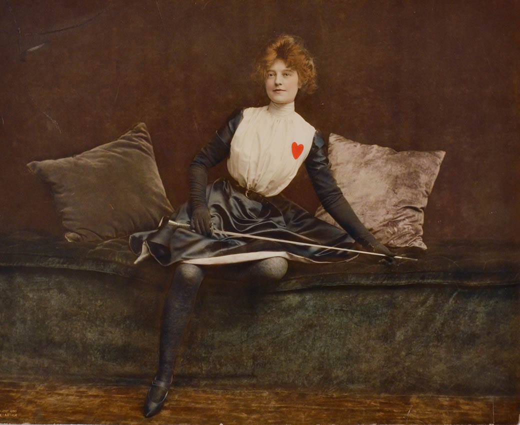 1902 Blanche Mercredy (Blanche West) by James Arthur Etats Unis