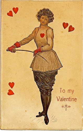 1905 ca card USA Valentine