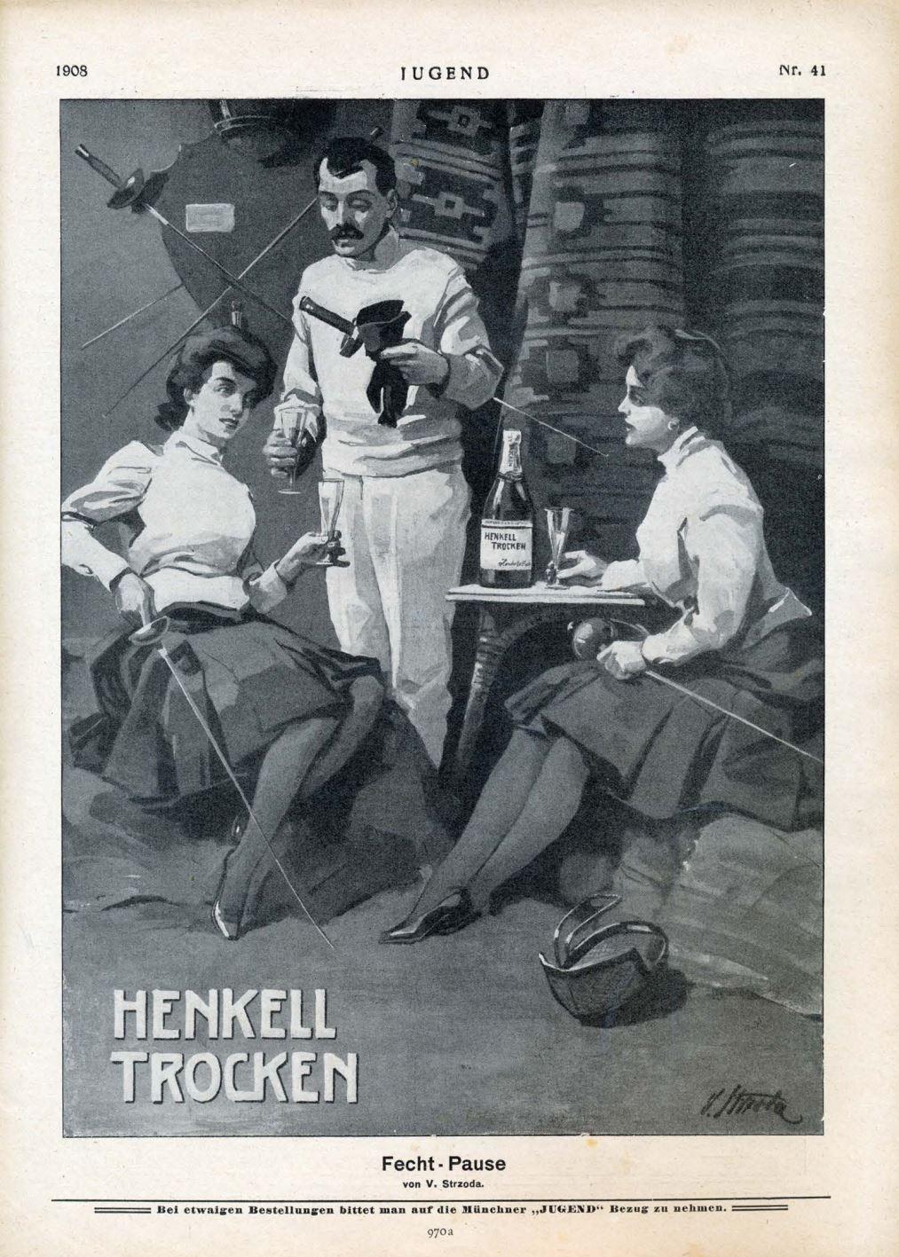 1908 Jugend Henkell Trocken