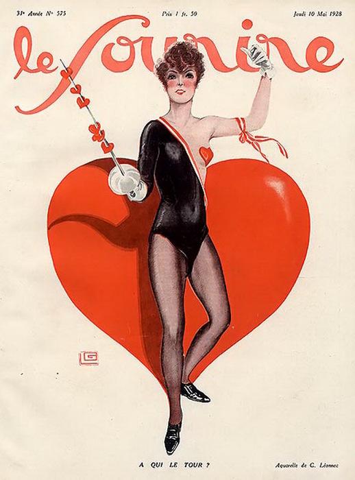1928 Le sourire leonnec-