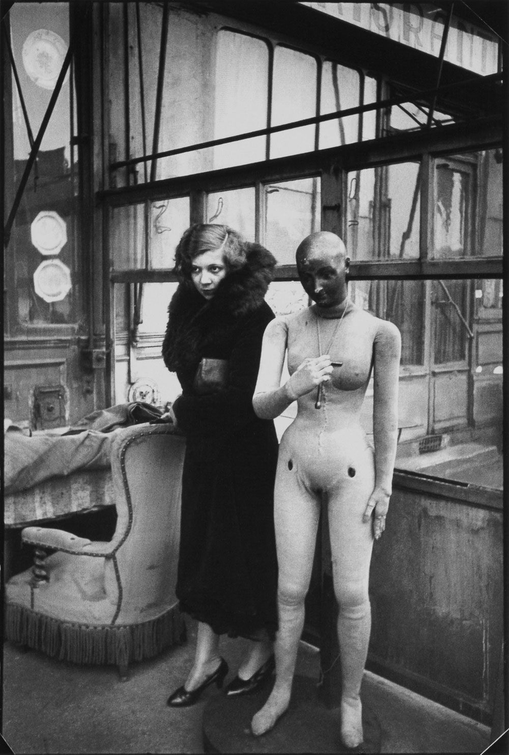 1932 Henri Cartier-Bresson, Leonor Fini, Paris,