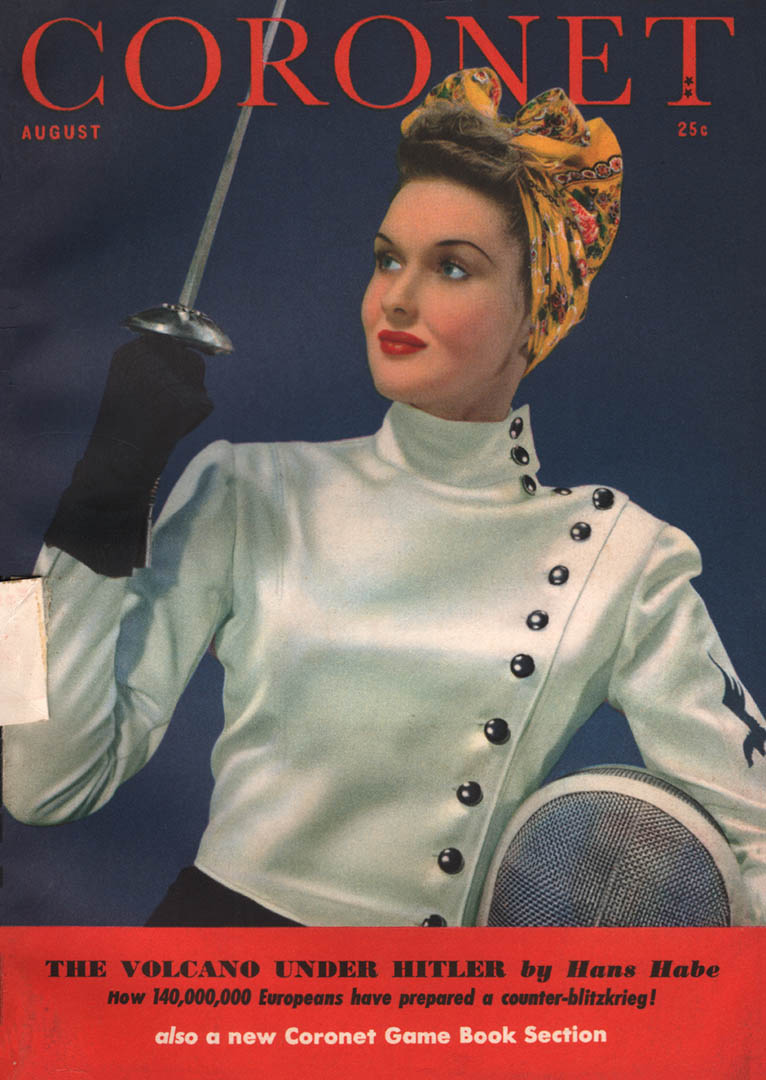 1941-Aug-Coronet-photo www.westcoastfencingarchive.com