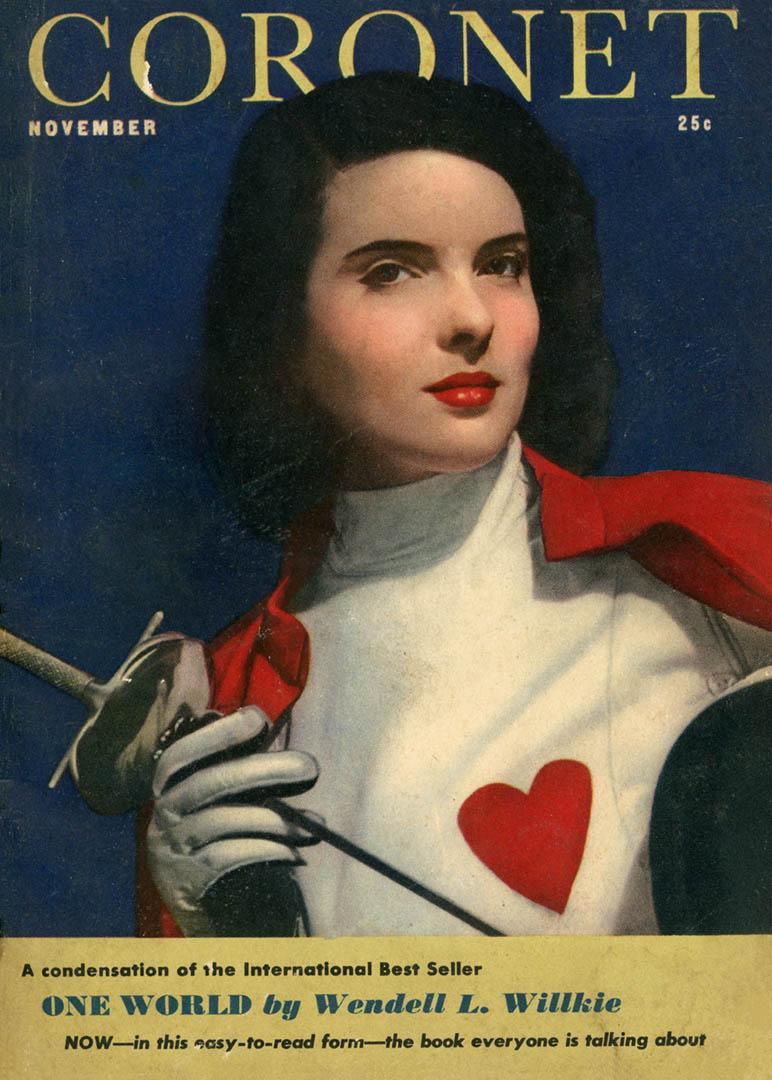 1943-Nov-Coronet photo www.westcoastfencingarchive.com