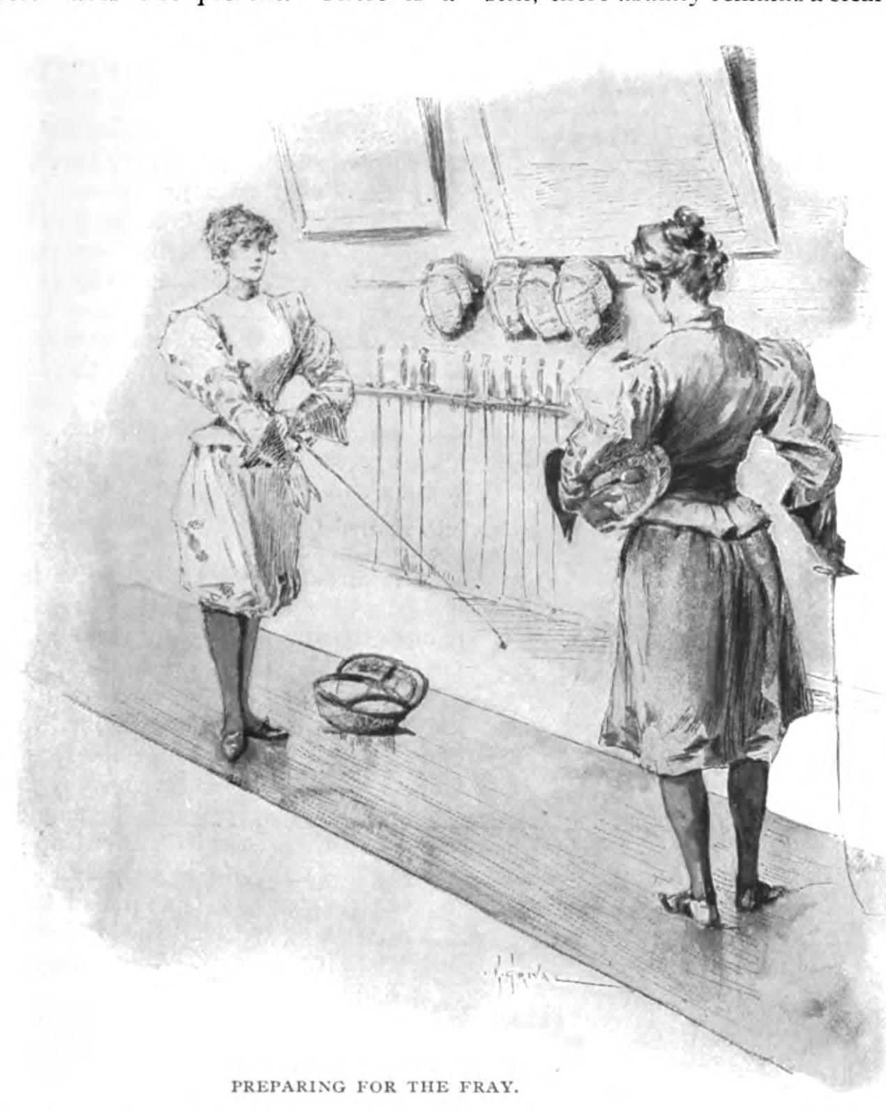 A modern sportswoman, Munsey's Magazine, juillet 1897, p 495