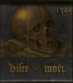 Albrecht BOUTS (atelier de) -1534 Musee Royal des BA verso disce mori