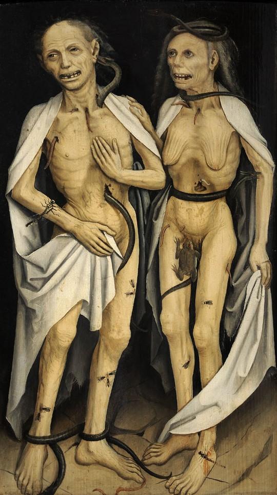 Anonyme 1470 ca, Les Amants trépassés, Strasbourg, Musée de l'œuvre Notre-Dame