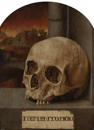 Anonyme Memento Mori 1530 Mauristshuis