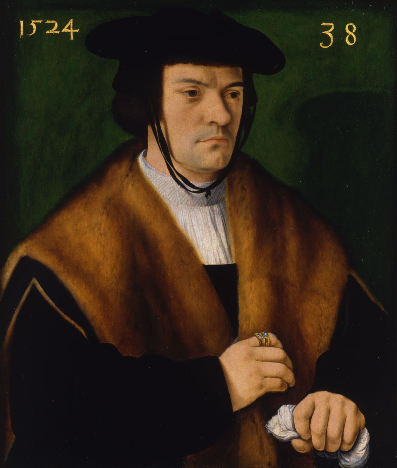 Barthel Bruyn l Ancien 1524 Portrait-of-Gerhard-von-Westerburg