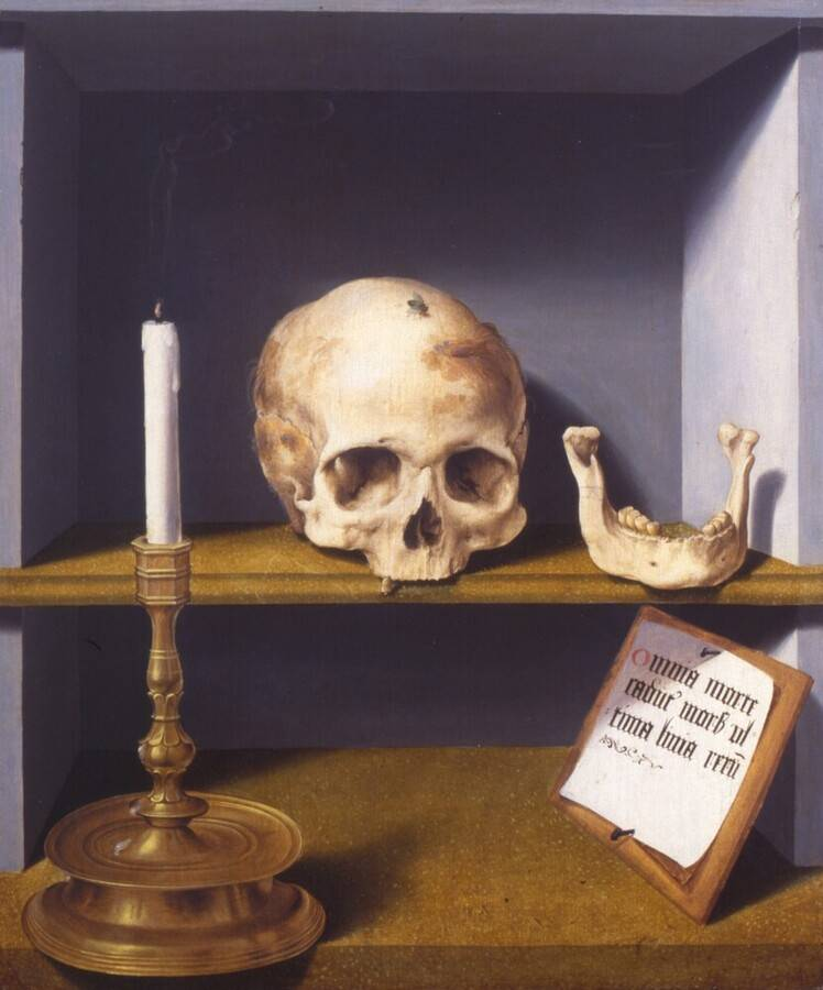 Barthel Bruyn l Ancien 1524 portret-van-gertraude-von-leutz-barthel-bruyn-de-oude kroller-muller-museum verso