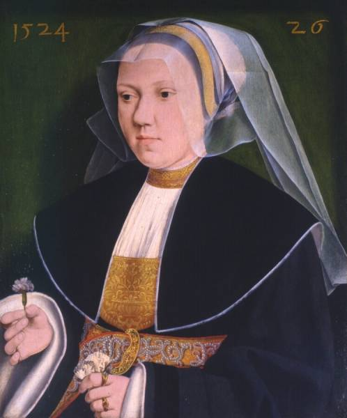 Barthel Bruyn l Ancien 1524 portret-van-gertraude-von-leutz-e-barthel-bruyn-de-oude kroller-muller-museum recto