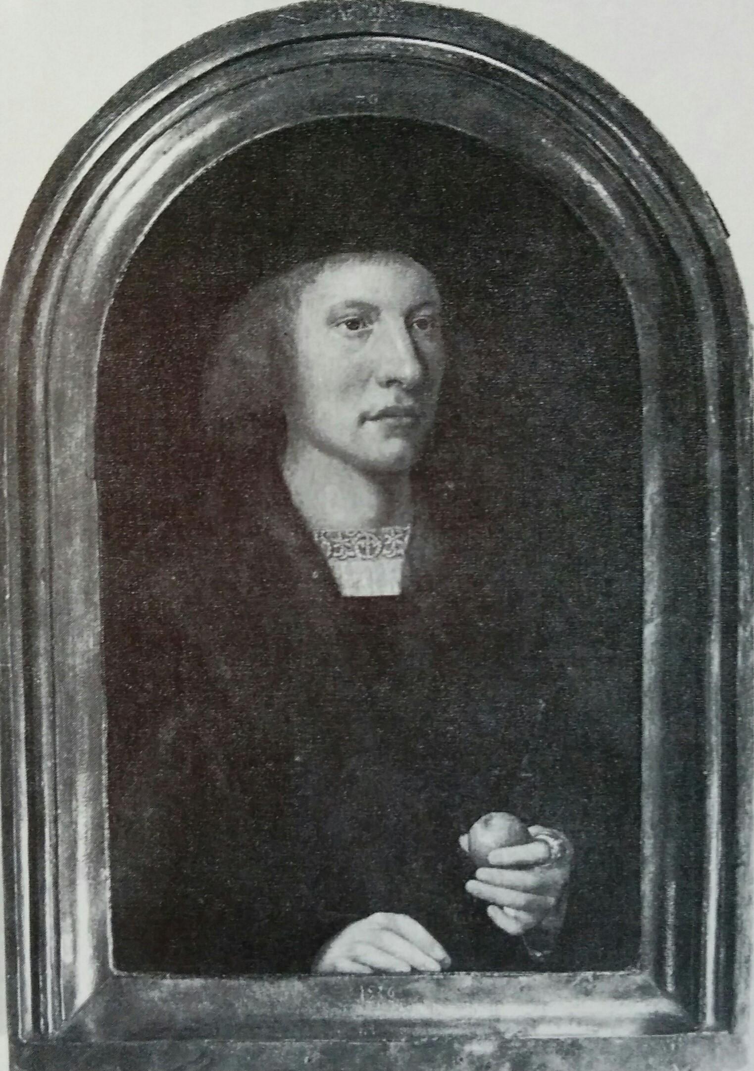 Barthel Bruyn l'Ancien 1516 portrait d'homme