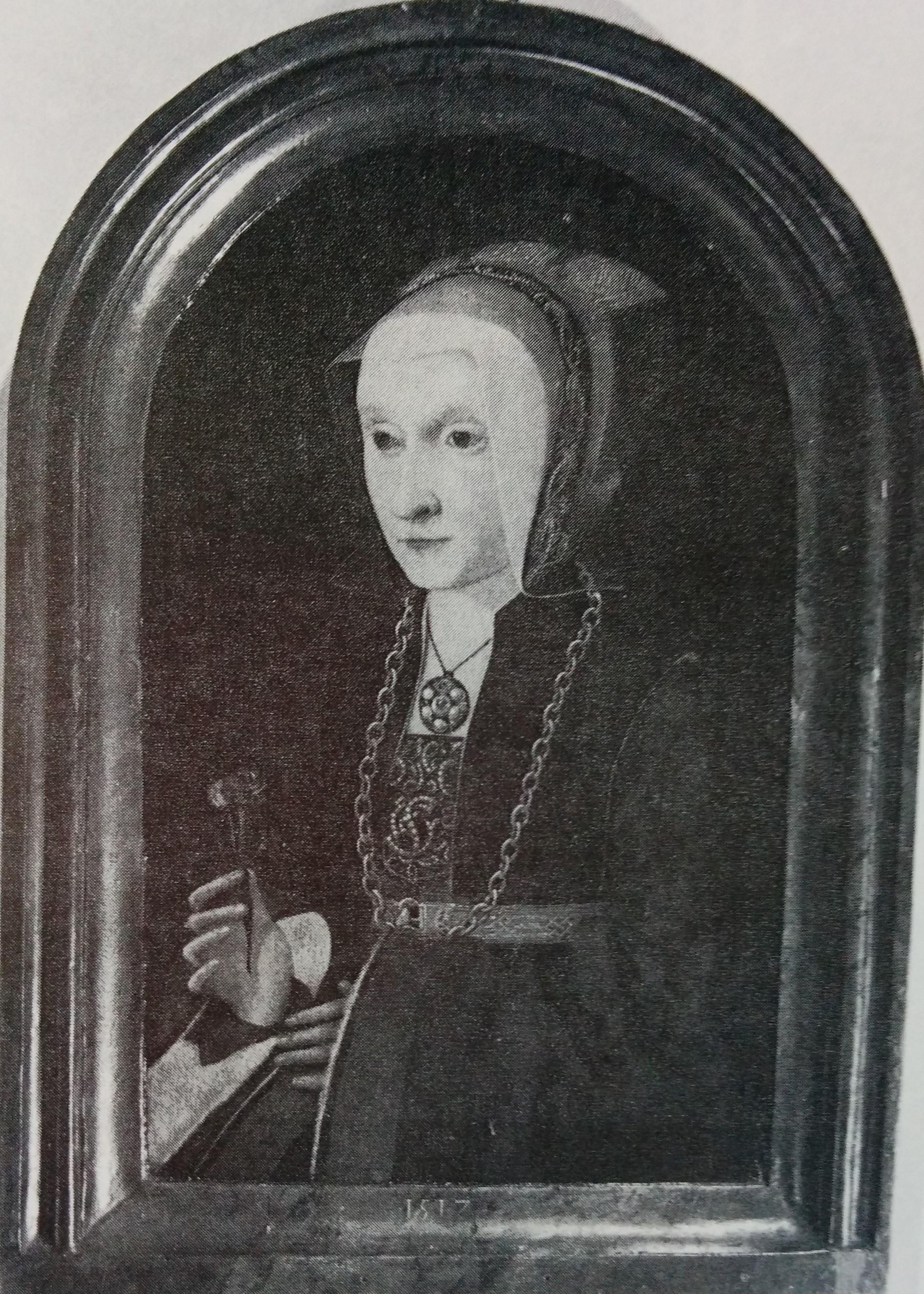 Barthel Bruyn l'Ancien 1517 portrait de femme