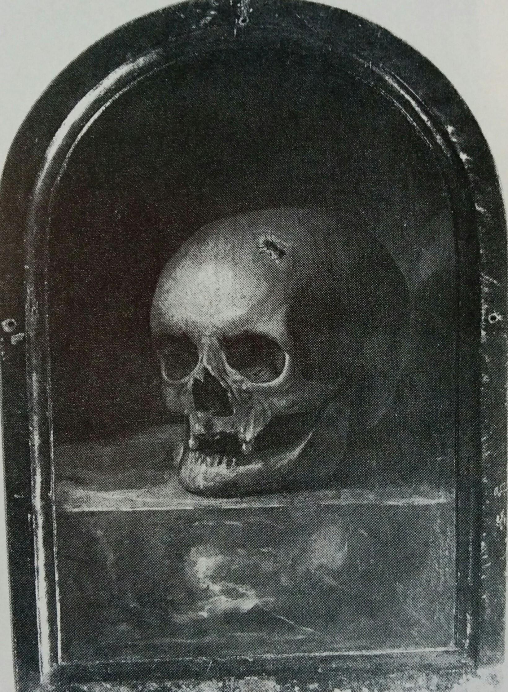 Barthel Bruyn l'Ancien 1517 revers portrait feminin coll privee
