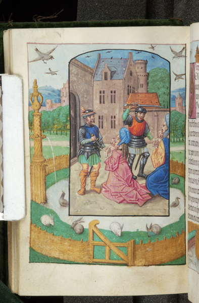 Book of Hours, Bruges, 1500-26, Massacre des innocents Morgan Library M.363 fol. 89v