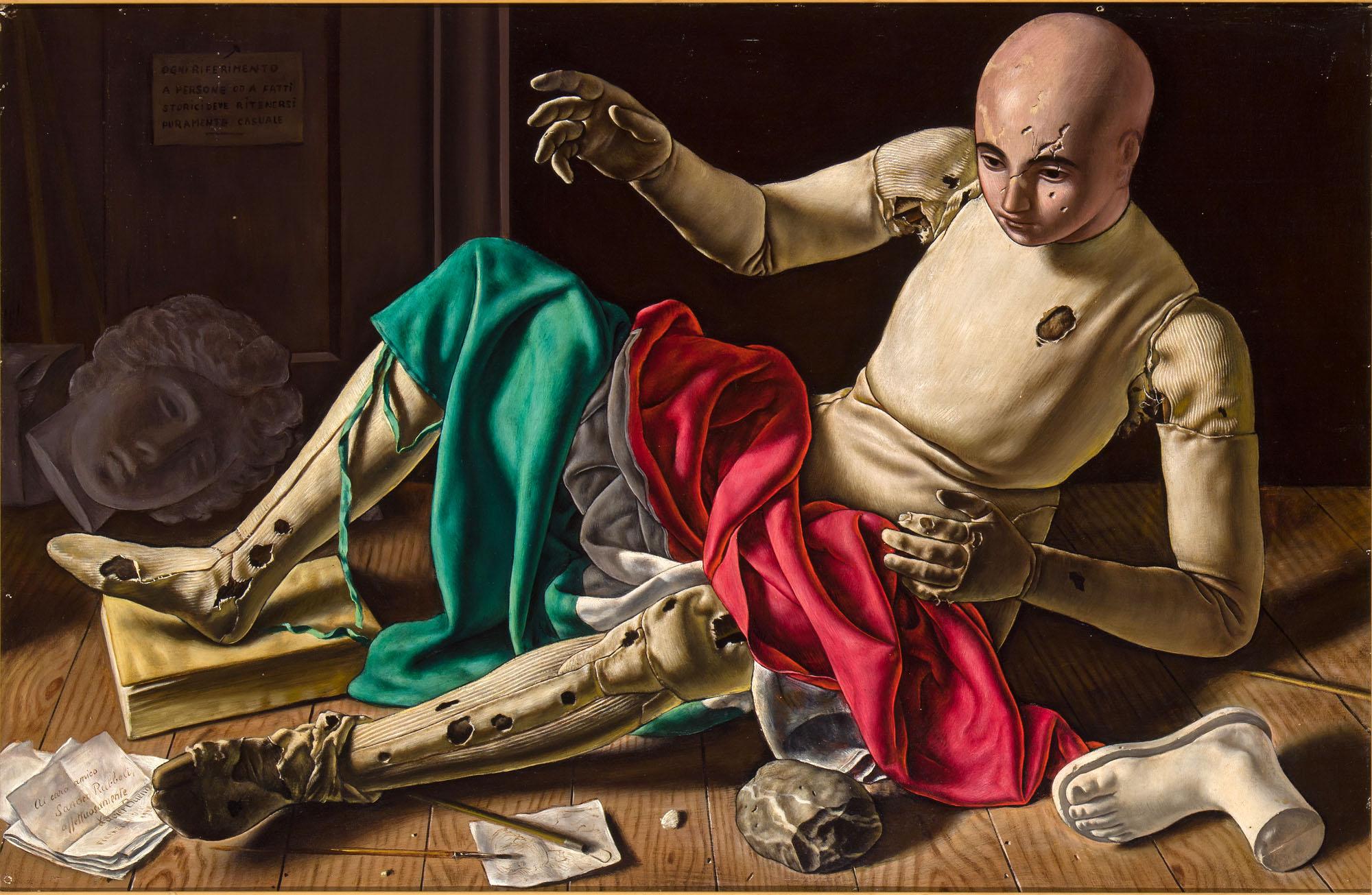 Bueno Xavier 1948 - Manichino collection Sandro Rubelli.