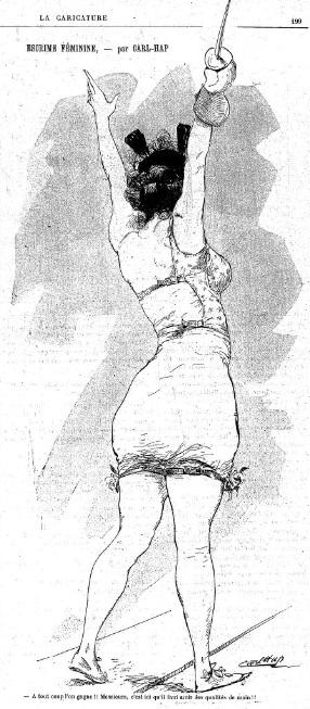 Carl-Hap La caricature 22 juin 1895 Gallica
