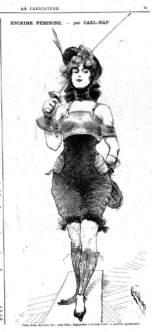 Carl-Hap La caricature 23 mars 1895 Gallica